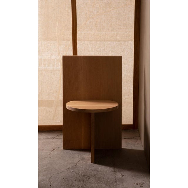 Campagna Campagna |O Sit Chair in White Oak For Sale - Image 4 of 4