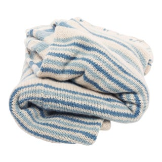 Knit Tide Throw Blanket For Sale