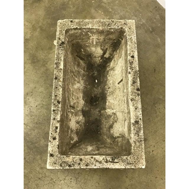 Rectangular Cast Stone Planter - Image 2 of 7
