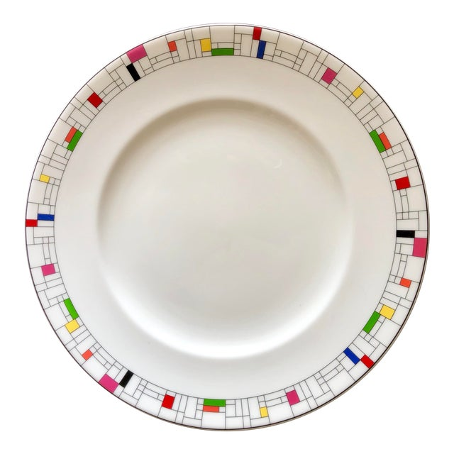 Gramercy Park Collection by Kate Spade for Lenox Luncheon Plates- a Pair For Sale