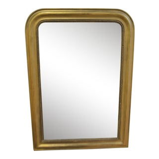 Louis Philippe Period Gilded Wall Mirror For Sale