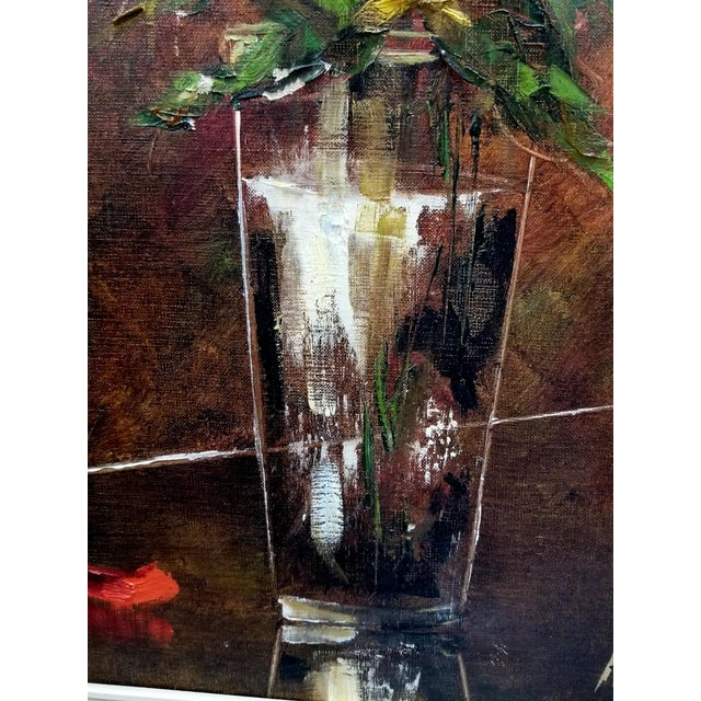 F.K. Thauer Floral Still Life Oil Painting - Image 4 of 10