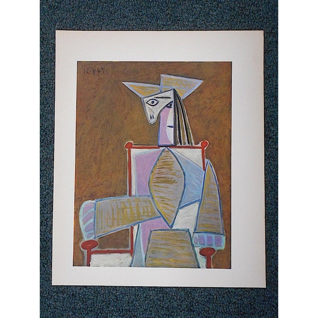 Abstract Vintage Picasso Lithograph For Sale - Image 3 of 3