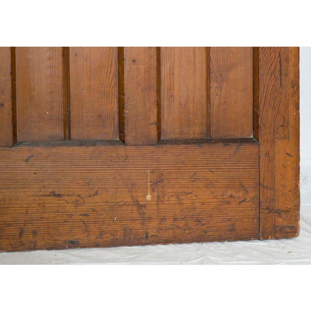 Mid 19th Century Gothic Revival Pine Door For Sale - Image 4 of 5