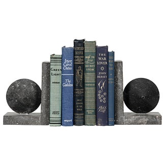 Black Marble Bookend For Sale