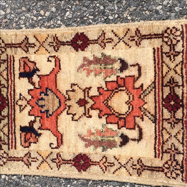 Sultanabad Persian Rug - 1′4″ × 1′11″ - Image 3 of 10