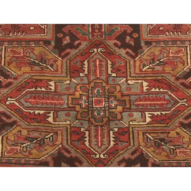 Vintage Persian Rug - 6′10″ × 9′7″ - Image 3 of 11
