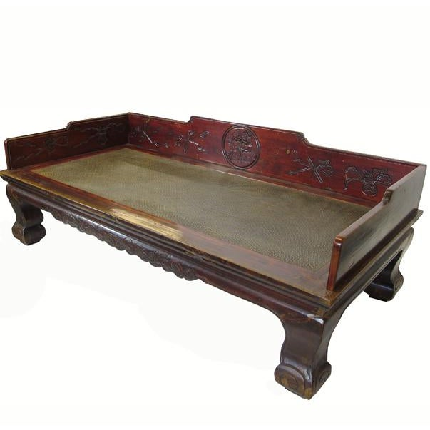 1900s Antique Chinese Daybed For Sale - Image 13 of 13