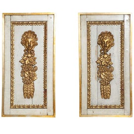 Image of Giltwood Sculptural Wall Objects