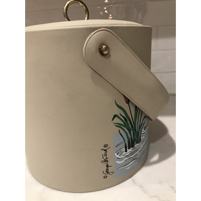 French Mid-Century Georges Briard Ice Bucket For Sale - Image 3 of 4