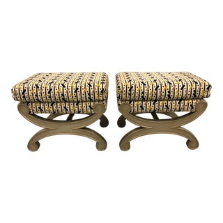 20th Century Regency Style Benches - a Pair For Sale
