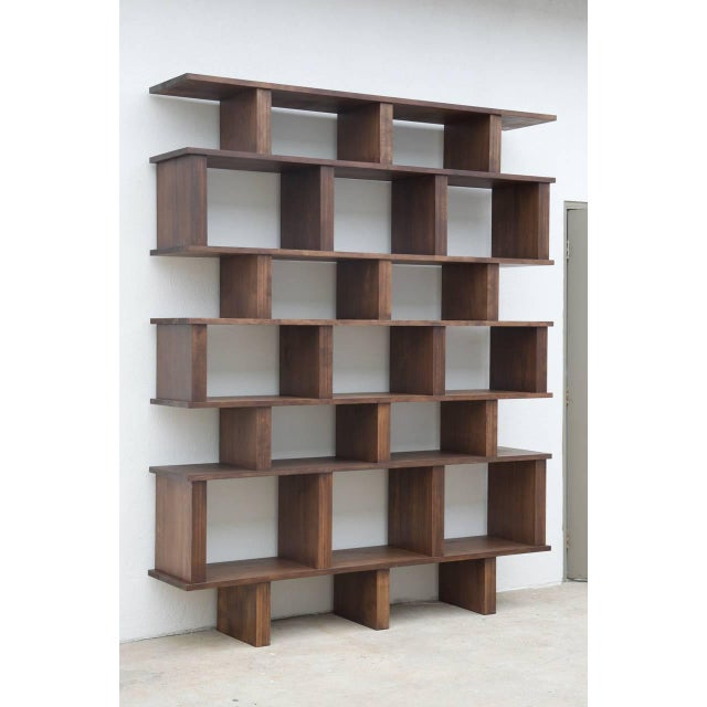 "Contemporary Design Frères Tall ""Verticale"" Shelving Unit For Sale - Image 10 of 10"