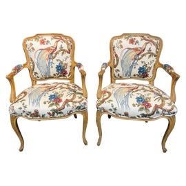 Image of French Provincial Accent Chairs