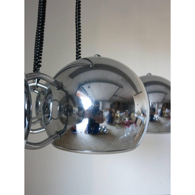 Globes Pendant by Sarfatti For Sale In Palm Springs - Image 6 of 7