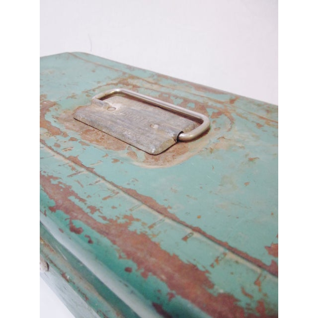 Green Liberty NY Metal Chest - Image 10 of 11