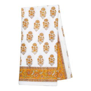 Riya Tablecloth, 6-seat table - Yellow For Sale