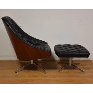 Milo Baughman for Thayer Coggin Lounge Chair & Ottoman Preview