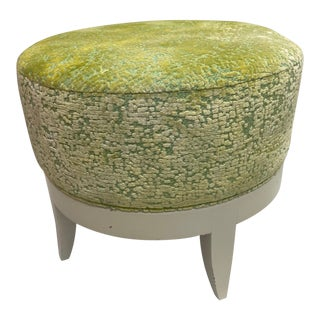 Hickory Chair Auburn Stool Ottoman For Sale