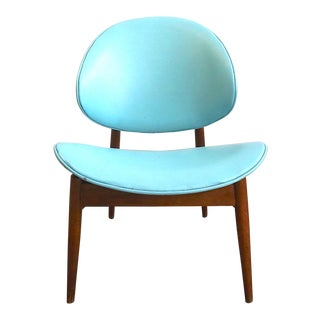 Mid Century Modern Kodawood Oyster Chair For Sale