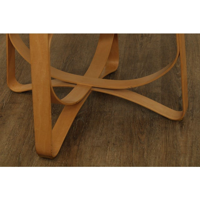 "Frank Gehry for Knoll Bent Wood Pair ""Har Trick"" Chairs For Sale - Image 9 of 13"