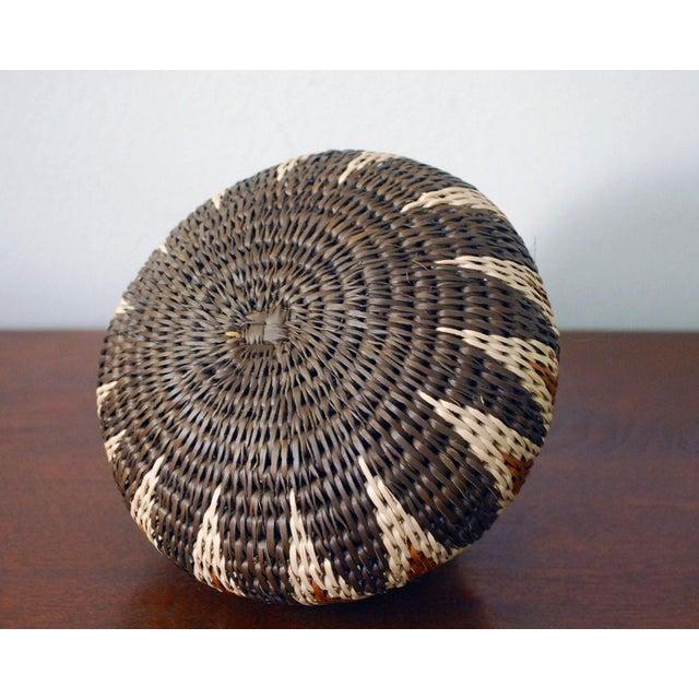 Vintage Zulu Seed Basket For Sale In Saint Louis - Image 6 of 8