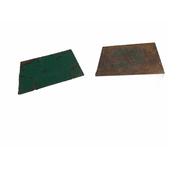 Art Deco Egyptian Revival Hand Hammered Copper Bookends - a Pair For Sale In San Francisco - Image 6 of 11
