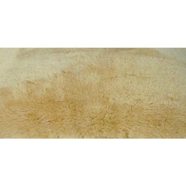 Golden Shearling Lambswool Pillow - Image 2 of 6