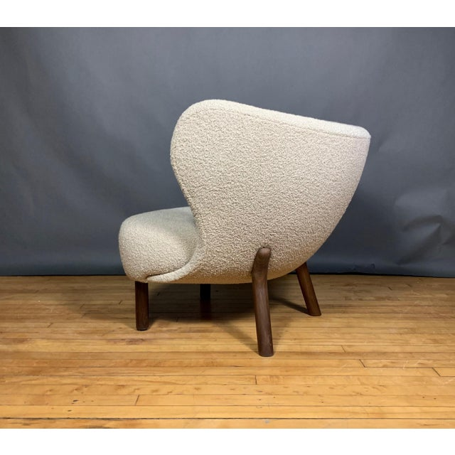 "Viggo Boesen, ""Little Petra"" Lounge Chair, Designed 1938 For Sale - Image 9 of 11"