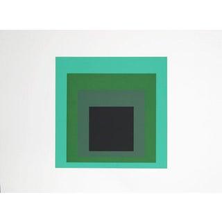 Josef Albers - Portfolio 2, Folder 13, Image 1 Framed Silkscreen For Sale