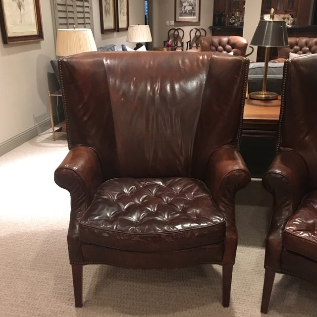 Classic and timeless leather chairs that only get better with time. These Restoration Hardware chairs are known as the...