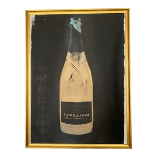 """""""Bore & Dom Series"""" Still Life Screenprint by and Signed by Max Wiedemann, Framed For Sale"""