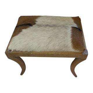 Oly Studio Neta Cowhide Bench For Sale