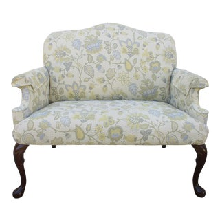 Queen Anne Style Settee -Smith Brothers of Berne For Sale
