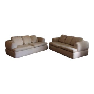 1990s Vintage Jay Spectre Loveseats - a Pair For Sale