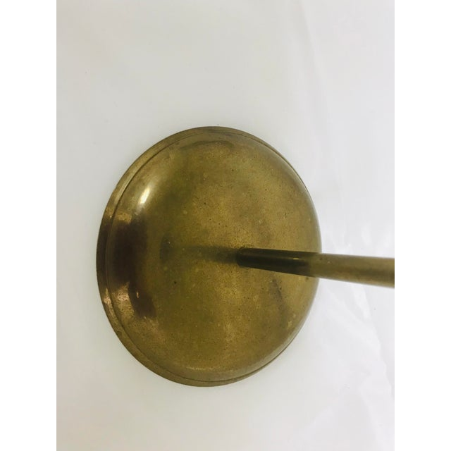 1960s Vintage Brass Rope & Tassel Taper Candlestick Holder For Sale In Saint Louis - Image 6 of 8