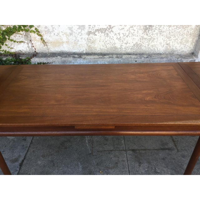 Vintage Mid-Century Modern Dining Table - Image 4 of 6