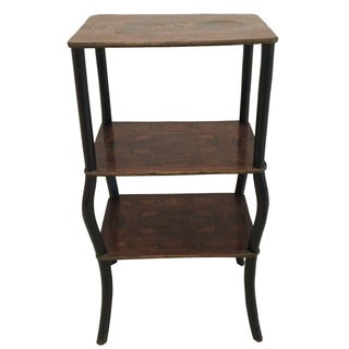 Three Tier Inlay Shelving Stand