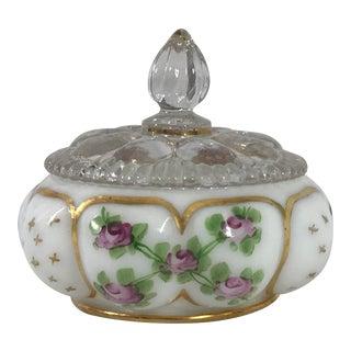 Fenton Charleton Milk Glass Vanity Dish For Sale