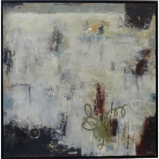 "Contemporary Abstract Painting ""Soul Magic"" by Karen Zazon For Sale"