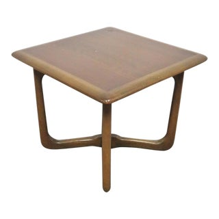 Altavista Lane Mid Century Walnut Side Table For Sale