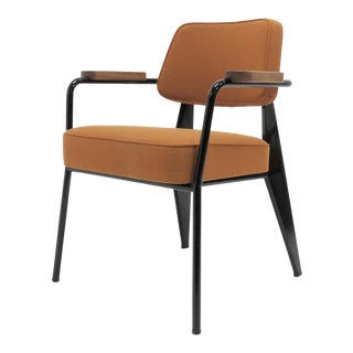Vitra Fauteuil Direction by Jean Prouvé Armchair For Sale