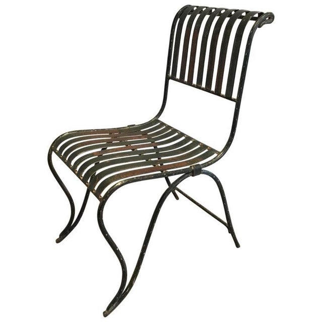 French Wrought Iron Garden Chair - Image 11 of 11