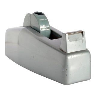 Vintage Gray Tape Dispenser For Sale