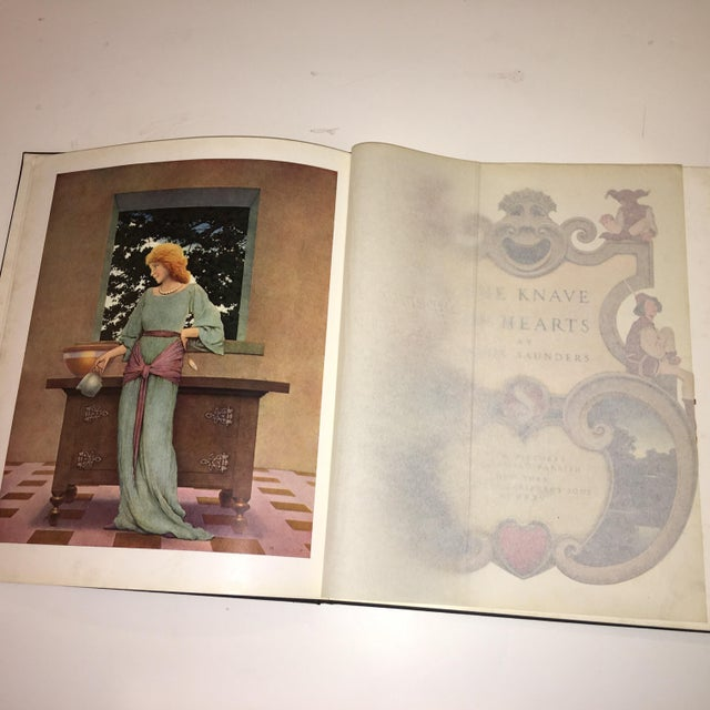 1st Ed 1925 the Knave of Hearts Maxfield Parrish For Sale - Image 4 of 11