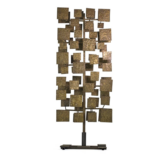 Sculpture screen from a set of ten commissioned by architect and interior designer florence knoll for the first national...