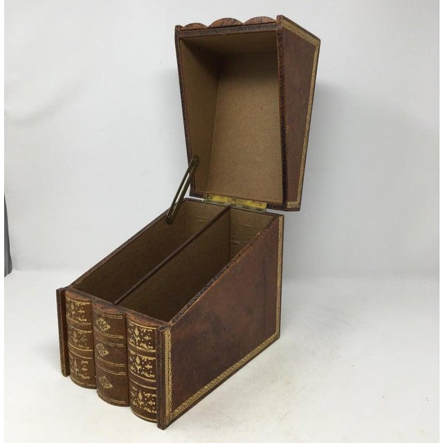 Brown Book Box For Sale - Image 8 of 10