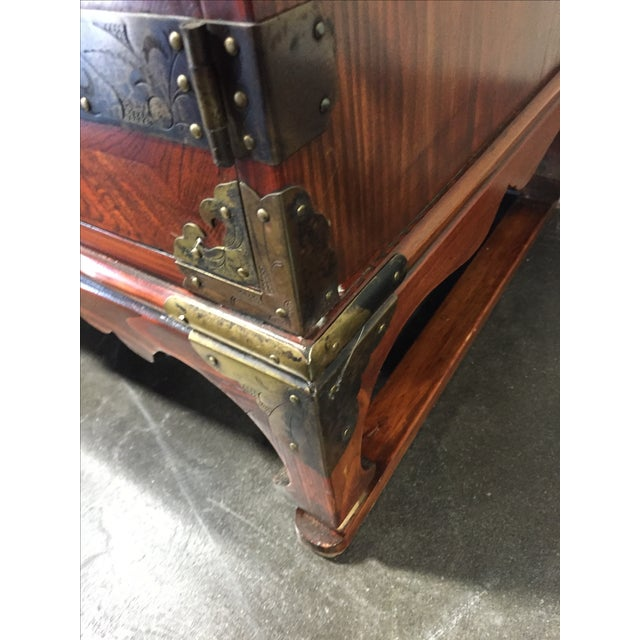Japanese Tansu Style Silver Chest - Image 4 of 10
