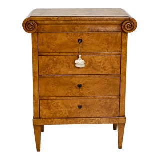 Neoclassical Birch Commode, Austria 19th Century For Sale