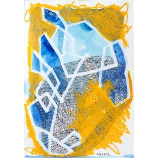 Everyday Original Acrylic & Pastel Painting