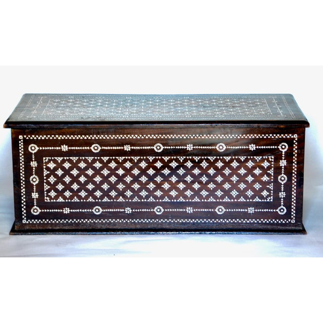 Turkish Mother of Pearl Inlaid Chest - Image 9 of 9